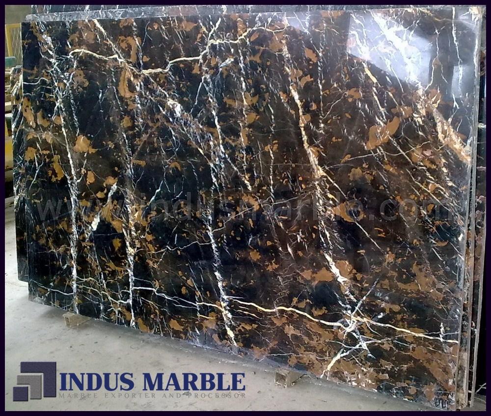 Black Gold Marble Blocks : Black gold marble slab indus