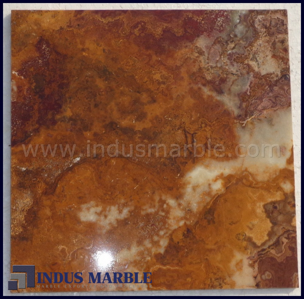 Brown multi onyx tile indus marble brown multi onyx tile dailygadgetfo Image collections