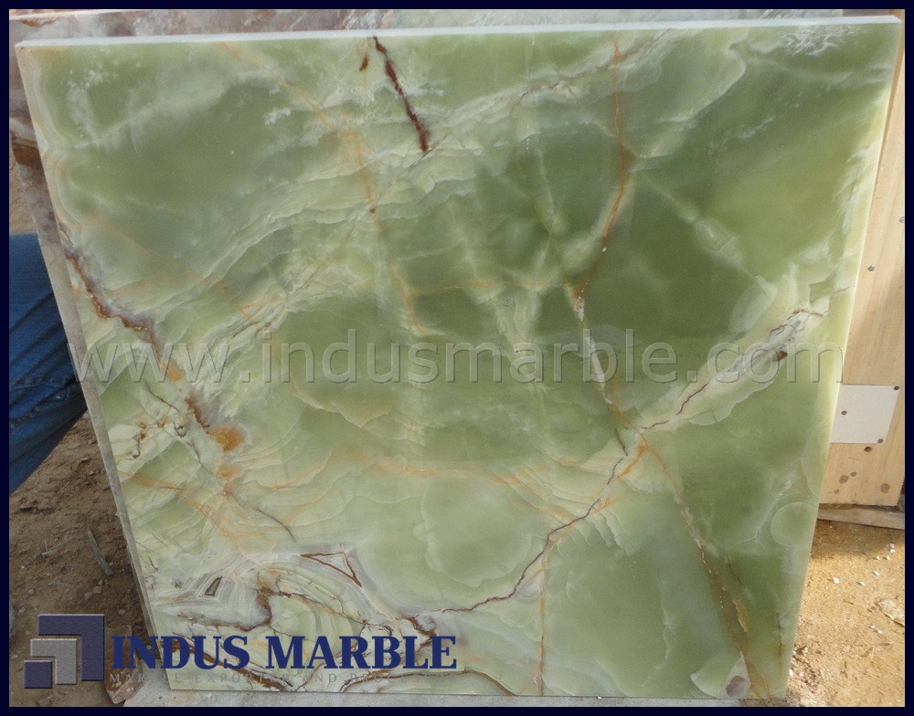 Green Onyx Marble Tile : Dark green onyx tile indus marble
