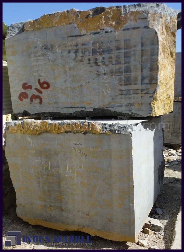 Golden Marble Blocks : King gold marble block indus