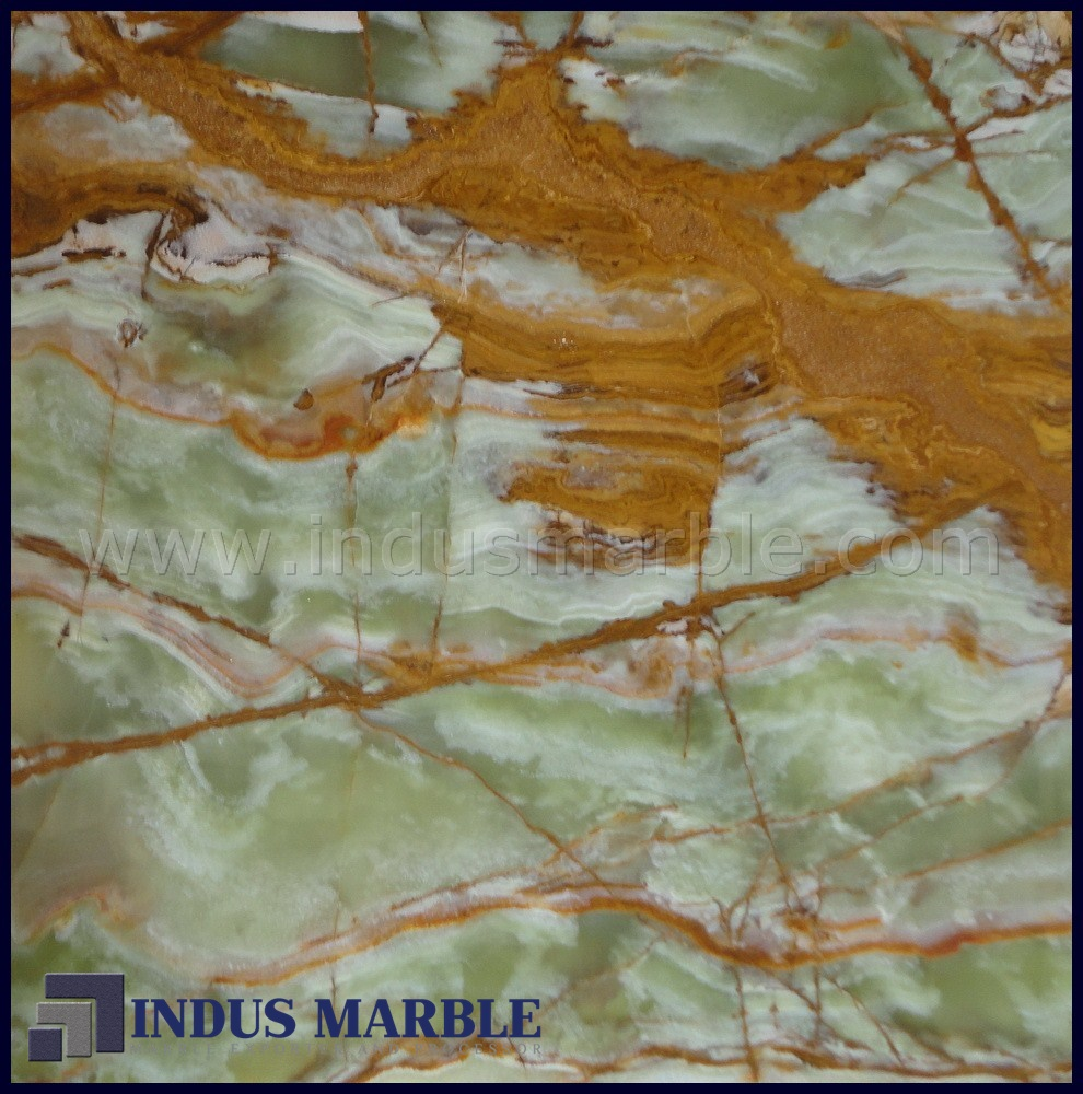 Green Onyx Marble Tile : Multi green onyx tile indus marble