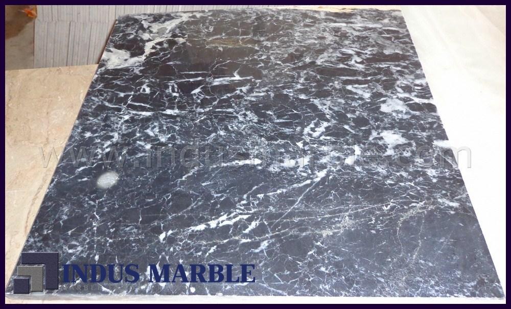 Black Zebra Marble Tiles Indus Marble